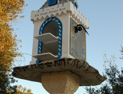 Birdhouse Sundial Renovation Preserves Cherished Piece of Casa History