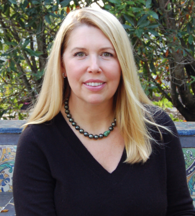 Kelly Bilek, a new board member at Casa Del Herrero
