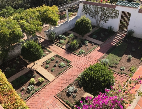 Casa del Herrero Receives Herb Garden Restoration Grant from the Garden Club of Santa Barbara