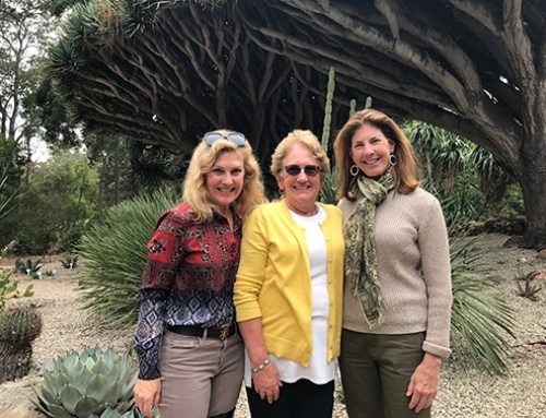 "Garden Club of Santa Barbara Celebrates the Unveiling of the New Arizona ""Cactus"" Garden at Casa del Herrero"