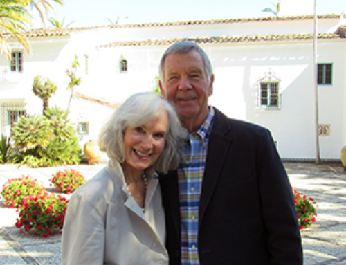 For Carolyn and Bob Williams, Casa del Herrero Provides Opportunity to Share Passion for Historical Preservation